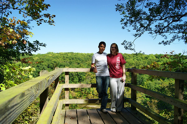Morgan Elbert and Angel Hernandez at Shades State Park<br /> <br /> Photographer's Name: Morgan Elbert<br /> Photographer's City and State: Alexandria, IN