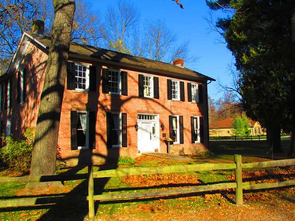 Brick house in the sun at Mounds.<br /> <br /> Photographer's Name: Brian Fox<br /> Photographer's City and State: Anderson, Ind.