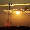 Windmill at sunset.<br /> <br /> Photographer's Name: Laura Johnson<br /> Photographer's City and State: Alexandria, Ind.