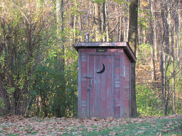 Privy at Mounds Park.<br /> <br /> Photographer's Name: Brian Fox<br /> Photographer's City and State: Anderson, Ind.