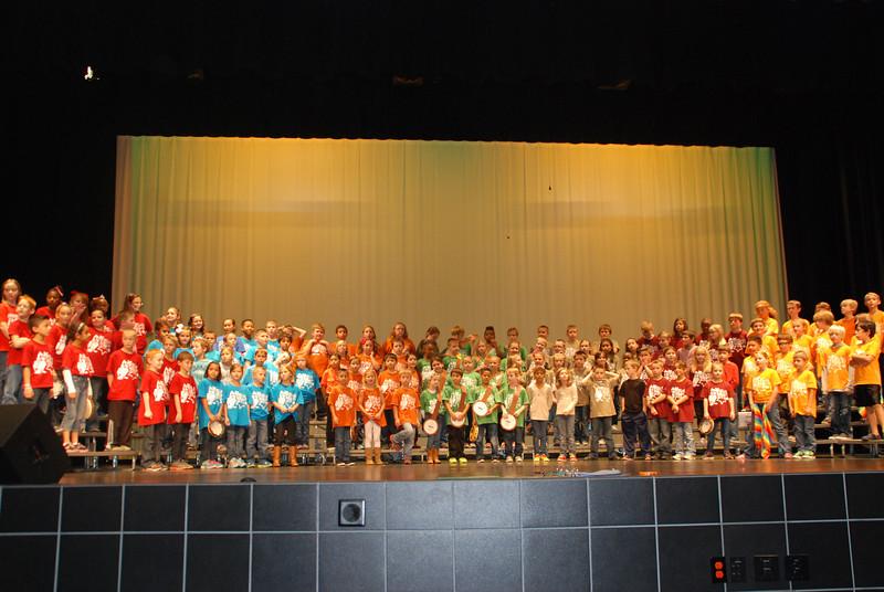 Camden's 3rd grade program.