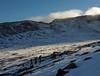 Looking over Coire an Lochain towards Fiacaill Buttress
