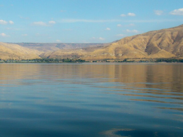 View of the Golan Heights from Sea of Galilee<br /> <br /> Photographer's Name: Kevin Crawford<br /> Photographer's City and State: Anderson, IN