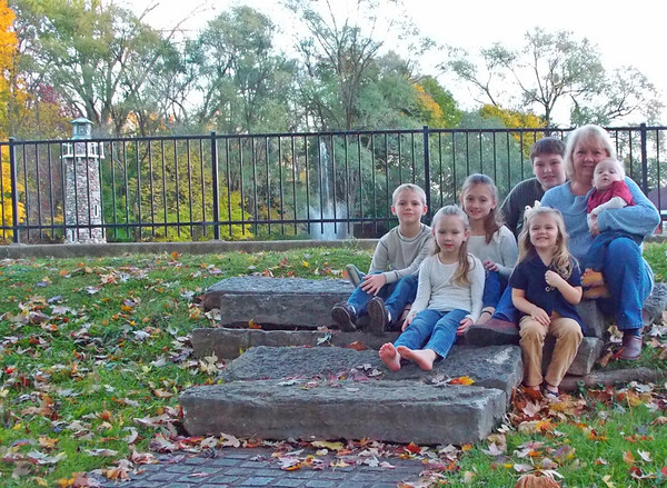Fall afternoon with my grandkids at Falls Park in Pendleton<br /> <br /> Photographer's Name: Susan Humphrey<br /> Photographer's City and State: Anderson, IN