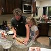 Making Thanksgiving pies