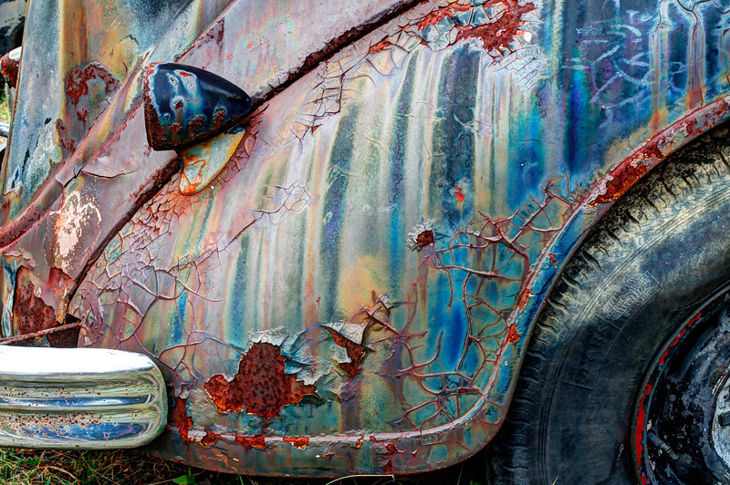 """""""Psychedelic Rust"""" by Scott Mais"""