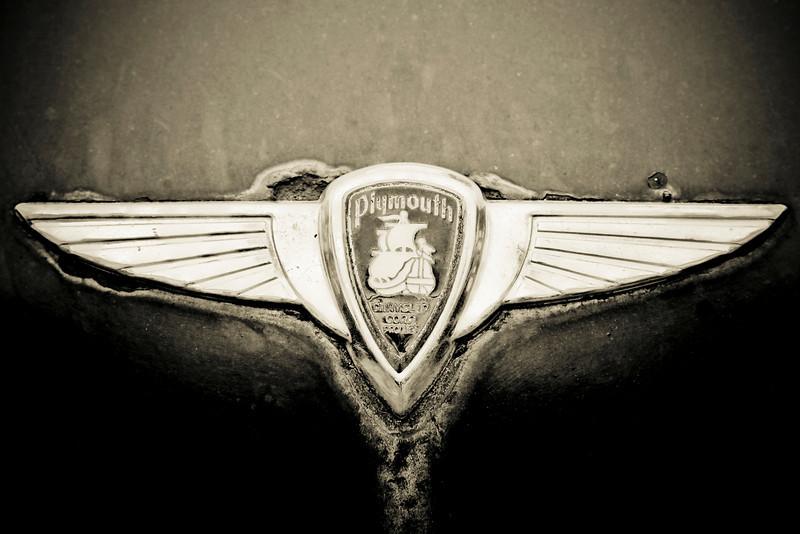 """Plymouth Chrysler Emblem"" by Scott Mais"