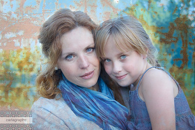Mother and Daughter Urban-