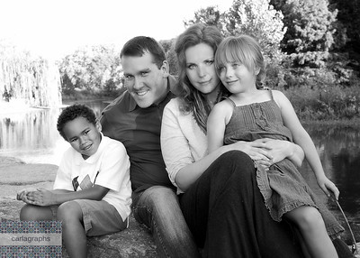 The Family TWO!  bw-