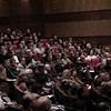 El público colmó las instalaciones del Auditorio del Rectorado de la Universidad Católica de Córdoba.
