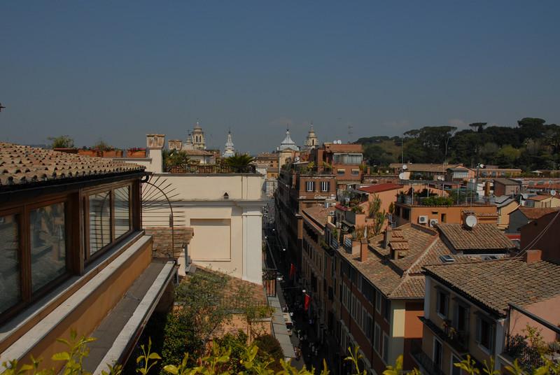 View towards Piazza del Popolo