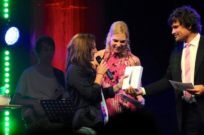 Pernilla Bergström vann en iPad-mini