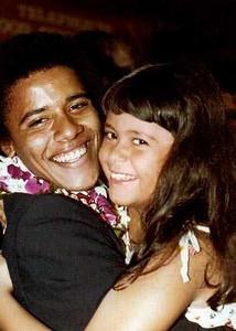 obama sister