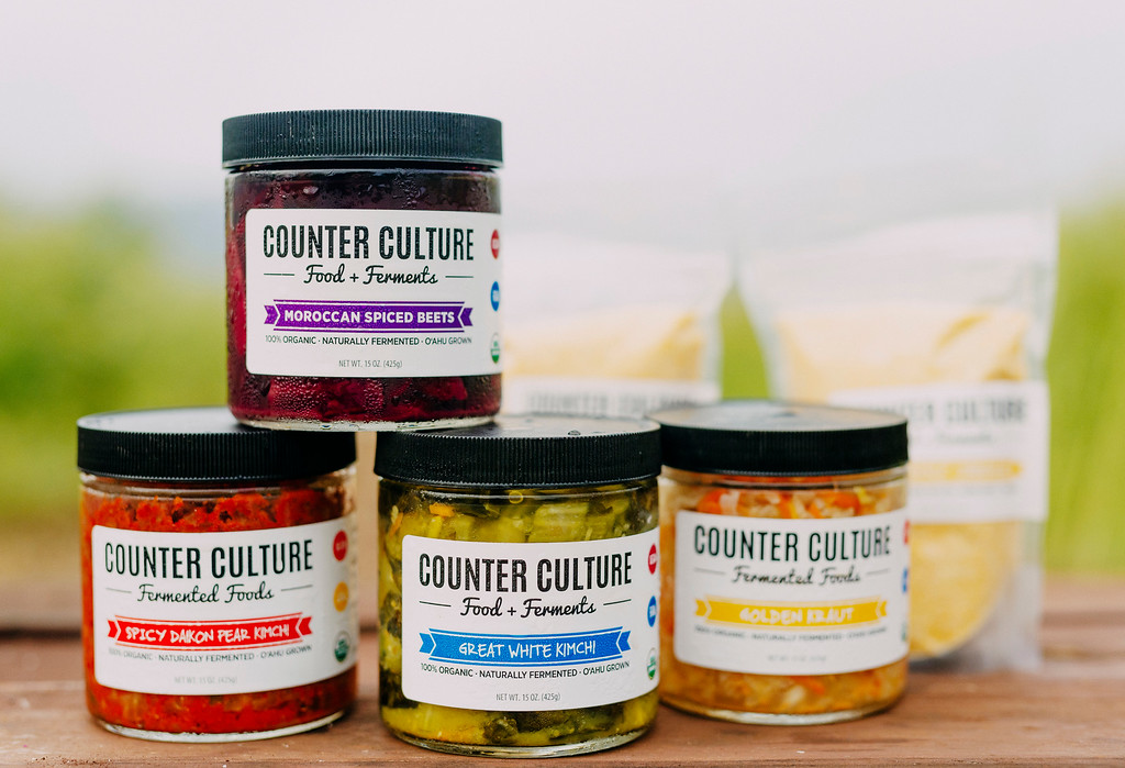 Counter Culture fermented products.