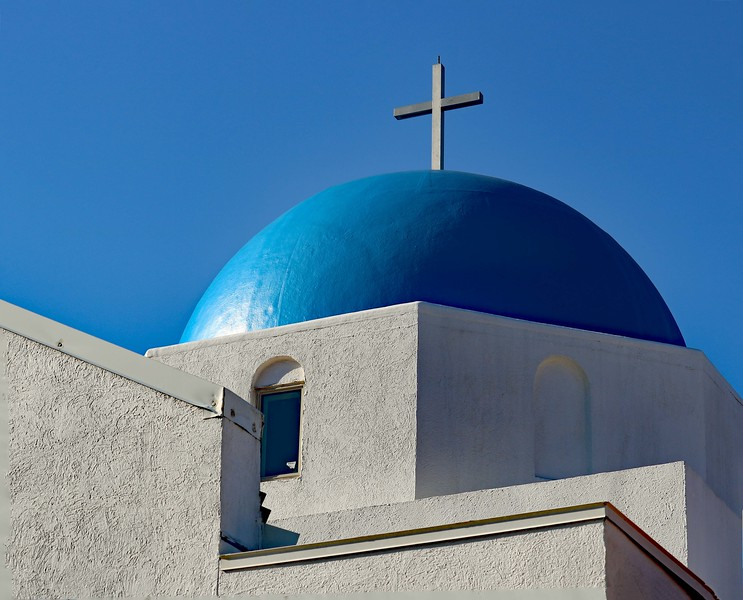 The Blue Dome