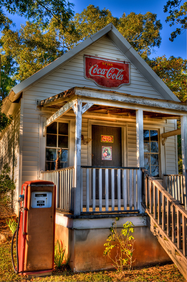 Old grocery store on New Hope Road, Griffin, GA