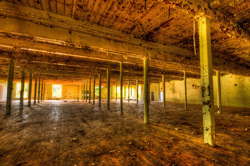 Abandoned Dundee Textile Mill # 5 in Griffin, GA