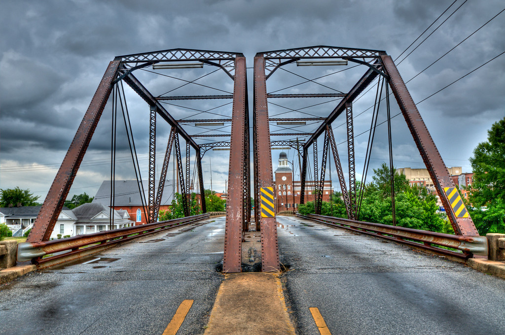 Historic 6th Street Bridge in Griffin, scheduled for demolition in 2011