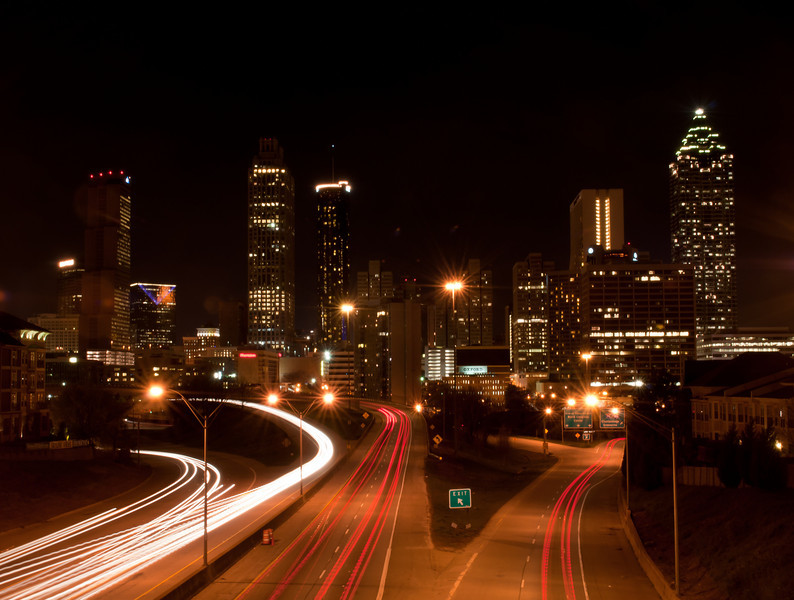 Atlanta Skyline from Freedom Parkway