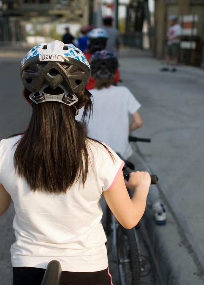 Earn a bike riders