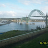 Here is the Newport Bridge. When its not raining in Oregon...it's really beautiful and quaint!!
