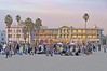 The Fenmar is at the left & 909 OFW at right - Brooks Ave is at left and Breeze Ave is at right - 2 bldgs in one full Venice block - A new years drum circle on the sand.