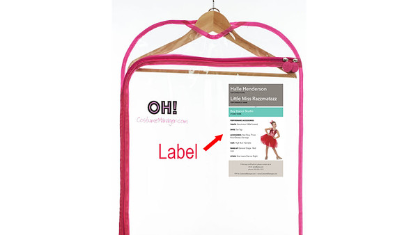 OH BAG LABEL CREATION