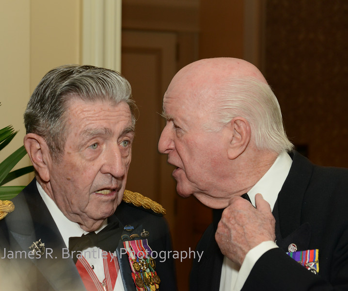 """Major General victor J. Jugo, Jr., Viscount John Slim<br /> <br /> The OSS Society presents the William J. Donovan Award to former CIA Director Bill Gates at the Ritz-Carlton Hotel in Washington, DC on Saturday, October 27, 2012.  The OSS (Office of Strategic Services) was the World War II era predecessor of today's Central Intelligence Agency.  The award is named for the first head of the OSS, William """"Wild Bill"""" Donovan.    (James R. Brantley)"""