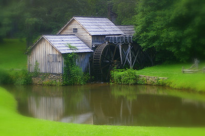 Mabry Mill,  Blue Ridge Parkway Mile Post 176.. Meadows of Dan, VA 24120