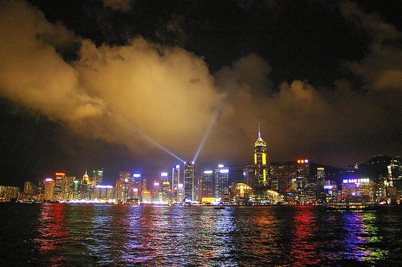 Light Show Hong Kong Harbour
