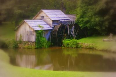 Mabry Mill,  Blue Ridge Parkway.