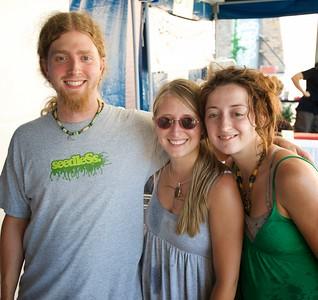 Ross Garber, Emily Jones and Amanda Parsley at The OTR/Gateway Summer Celebration