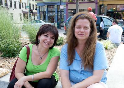 Giwliana and Kathleen of Clifton at The OTR/Gateway Summer Celebration