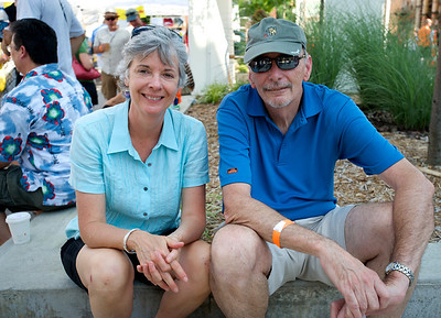 Laurie and Ron Althaus of Plesant Ridge at The OTR/Gateway Summer Celebration