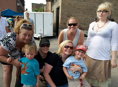 Trish, Kelly, Kim, Arienne, Ayla, Will and Henry at The OTR/Gateway Summer Celebration