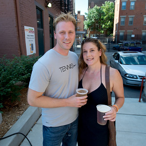 Matt Johnson and Lori Galvin at The OTR/Gateway Summer Celebration