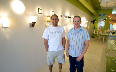 Bertie Ray and Drew Dearwester of Switch, one of the great shops in OTR's Gateway Quarter