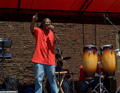 Positive Reaction performs at The OTR/Gateway Summer Celebration