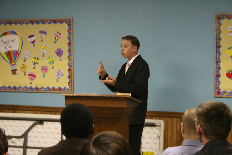 We started out Friday Morning with Preaching and music competitions.