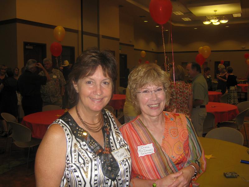 Margie Keeler White and Irene McDowell Salzman