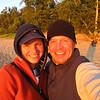 Steve's daughter-in-law Javana and son Brett:  Vacation in Michigan Upper Peninsula.