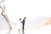 wedding photos at hierbe el ague (overexposed)