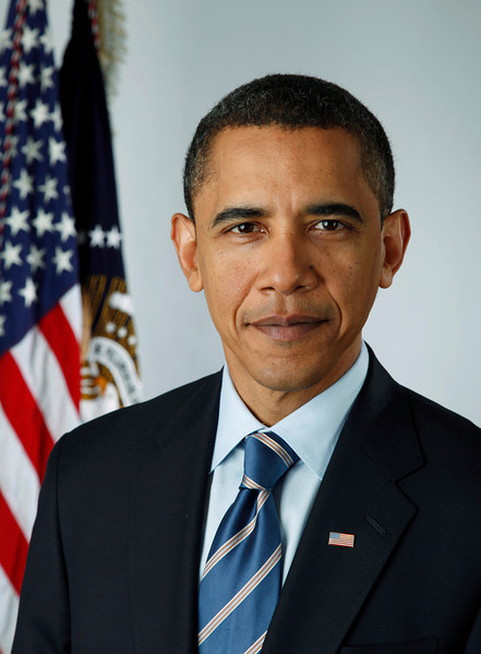Official portrait of President-elect Barack Obama on Jan. 13, 2009.<br /> <br /> (Photo by Pete Souza)