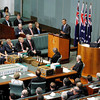 President Obama addressing the Australian National Parliament  17/11/2011