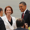 Australian Prime Minister  with the USA President