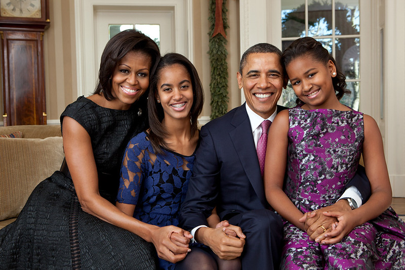 "Example family in the White House: After eight years and no scandals, no mistresses, once married no impeachment talk, never bankrupt no filthy sexual ""put downs"" for women  just a fine family unit, class, grace, distinction & Christian standard.   Thank you  for visiting  us & restoring  confidence  between our countries that was clearly lacking before your Presidency.<br /> Lowest unemployment rate for 43 year & exit approval rate of 60% what a great achievement by the Democrat  President Barack Obama"