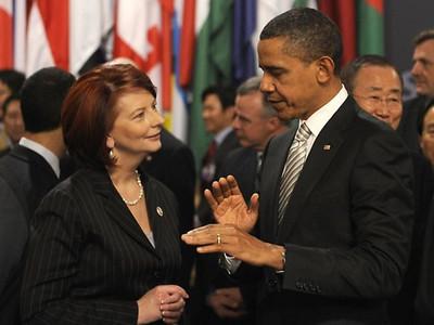 Barack Obama's Rock Style Welcome to Australia 2011