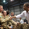 President Obama is welcomed by both Australian and American service men while in our northern city of Darwin