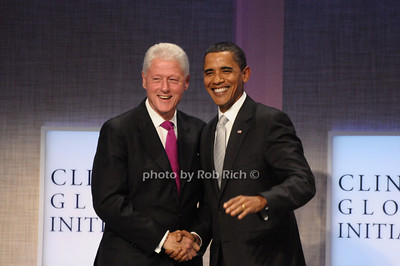 President Bill Clinton, President Barrack Obama  photo  by Rob Rich © 2009 robwayne1@aol.com 516-676-3939