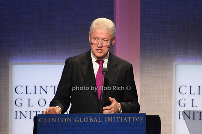 President Bill Clinton   photo  by Rob Rich © 2009 robwayne1@aol.com 516-676-3939